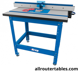 KREG Precision Router Table System - Top Rated Router Table