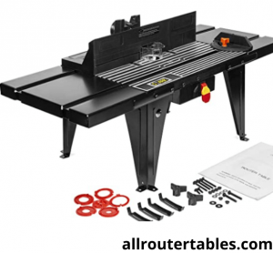 XtremepowerUS Deluxe Bench Top Aluminum Electric Router Table