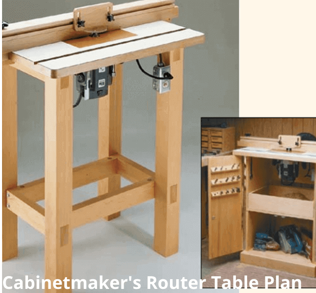 Cabinetmaker's Router Table Plan