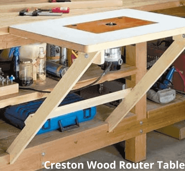 Creston Wood Router Table
