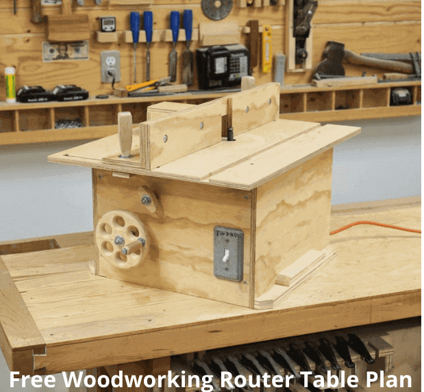 Free Woodworking Router Table Plan