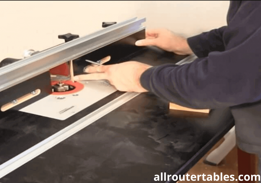 How to setup a router table