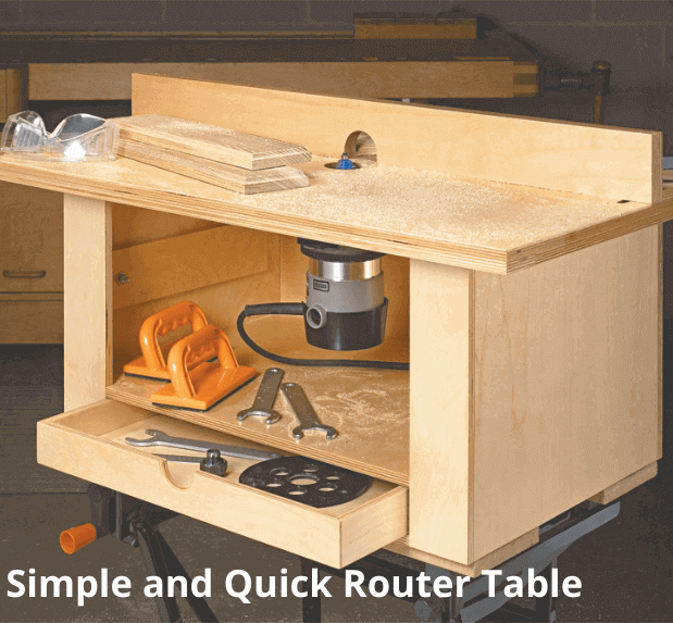 Simple and Quick Router Table